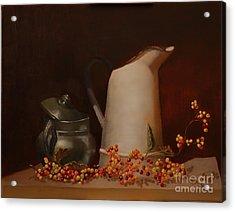 Jugs Acrylic Print by Genevieve Brown