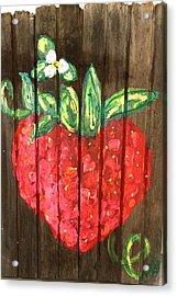 Juicy Berry Acrylic Print by Doralynn Lowe
