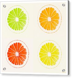 Juicy Citrus Acrylic Print