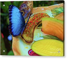 Juicy Fruit Acrylic Print by Debbi Granruth