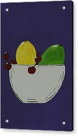 Juicy Fruit Acrylic Print by Katie Slaby
