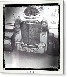 Acrylic Print featuring the photograph Juke Box by Nina Prommer