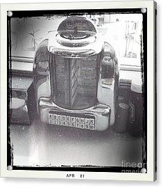 Juke Box Acrylic Print