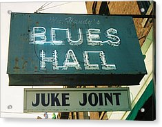 Juke Joint Acrylic Print by Jame Hayes
