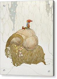 Julbock Acrylic Print