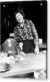 Julia Child, Ca. Early 1970s Acrylic Print
