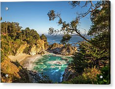 Acrylic Print featuring the photograph Julia Pfeiffer Burns State Park California by Scott McGuire