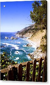 Julia Pfiffer Burns Coast Acrylic Print