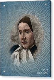 Julia Ward Howe, American Abolitionist Acrylic Print