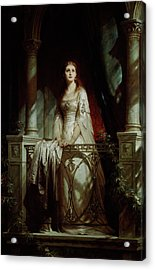 Juliet, 1877 Acrylic Print