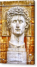 Julius Caesar At Vatican Museums 2 Acrylic Print by Stefano Senise