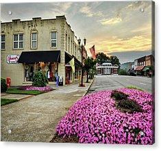 July 4th In Murphy North Carolina Acrylic Print