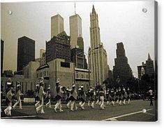 July 4th Parade New York - Vintage Photo Art Print Acrylic Print by Art America Online Gallery
