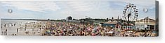Acrylic Print featuring the photograph July Fun At Old Orchard Beach by David Bishop