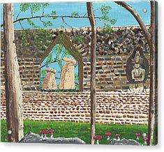 July  Portal Of Enlightenment Acrylic Print