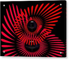 Acrylic Print featuring the digital art July by Robert Orinski
