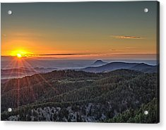 July Sunrise Acrylic Print