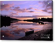 July Sunset At Fiddown Acrylic Print
