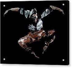 Jump Acrylic Print by Ana Bikic