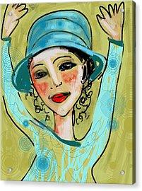 Jump For Joy Acrylic Print by Elaine Lanoue