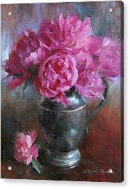 June Bouquet Acrylic Print by Anna Rose Bain