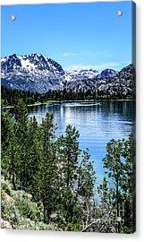 June Lake Portrait Acrylic Print