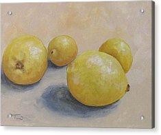 June Lemons Acrylic Print by Torrie Smiley