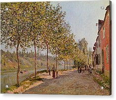 June Morning In Saint Mammes Acrylic Print by Alfred Sisley