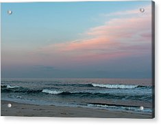 June Sky Seaside New Jersey Acrylic Print