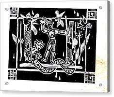 Jungle Codex Acrylic Print