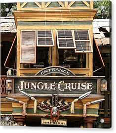 Jungle Cruise - Disneyland Acrylic Print