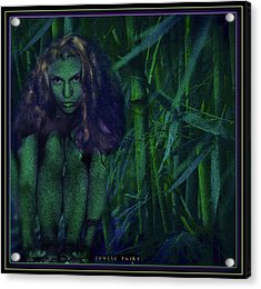 Jungle Fairy Acrylic Print