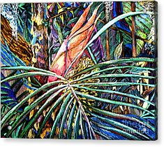Jungle Fever Acrylic Print by Mindy Newman