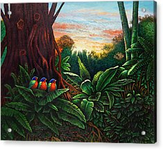Jungle Harmony 3 Acrylic Print
