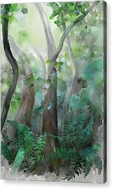 Acrylic Print featuring the painting Jungle by Ivana Westin
