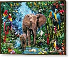 Jungle Acrylic Print by Jan Patrik Krasny