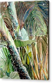 Jungle Light Acrylic Print by Mindy Newman