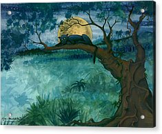 Jungle Panther Acrylic Print