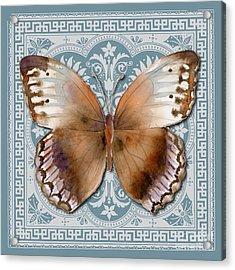 Jungle Queen Butterfly Design Acrylic Print