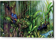 Jungle Talk Acrylic Print