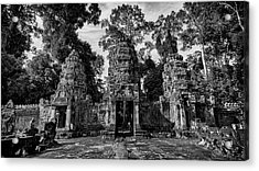 Jungle Temple Entrance Acrylic Print
