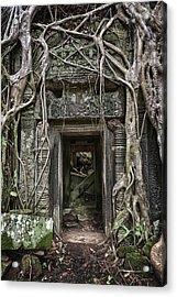 Jungle Temple Door #1 Acrylic Print