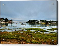 Juniper Cove Salem Ma Salem Willows Acrylic Print by Toby McGuire