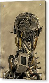 Junk Yard Robot Acrylic Print