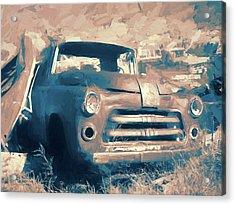 Junkyard Dodge Acrylic Print