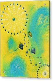 Jupiter Blue Acrylic Print