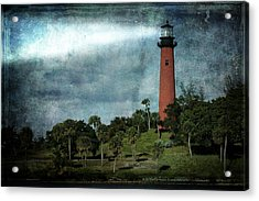 Jupiter Lighthouse-2a Acrylic Print