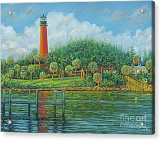 Jupiter Lighthouse Acrylic Print