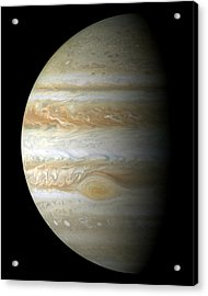 Jupiter Mosiac Acrylic Print by Stocktrek Images