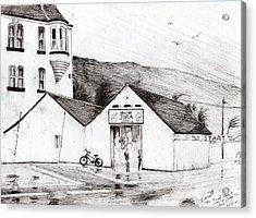 Jura Race Start Whiskey Distillery Acrylic Print by Vincent Alexander Booth